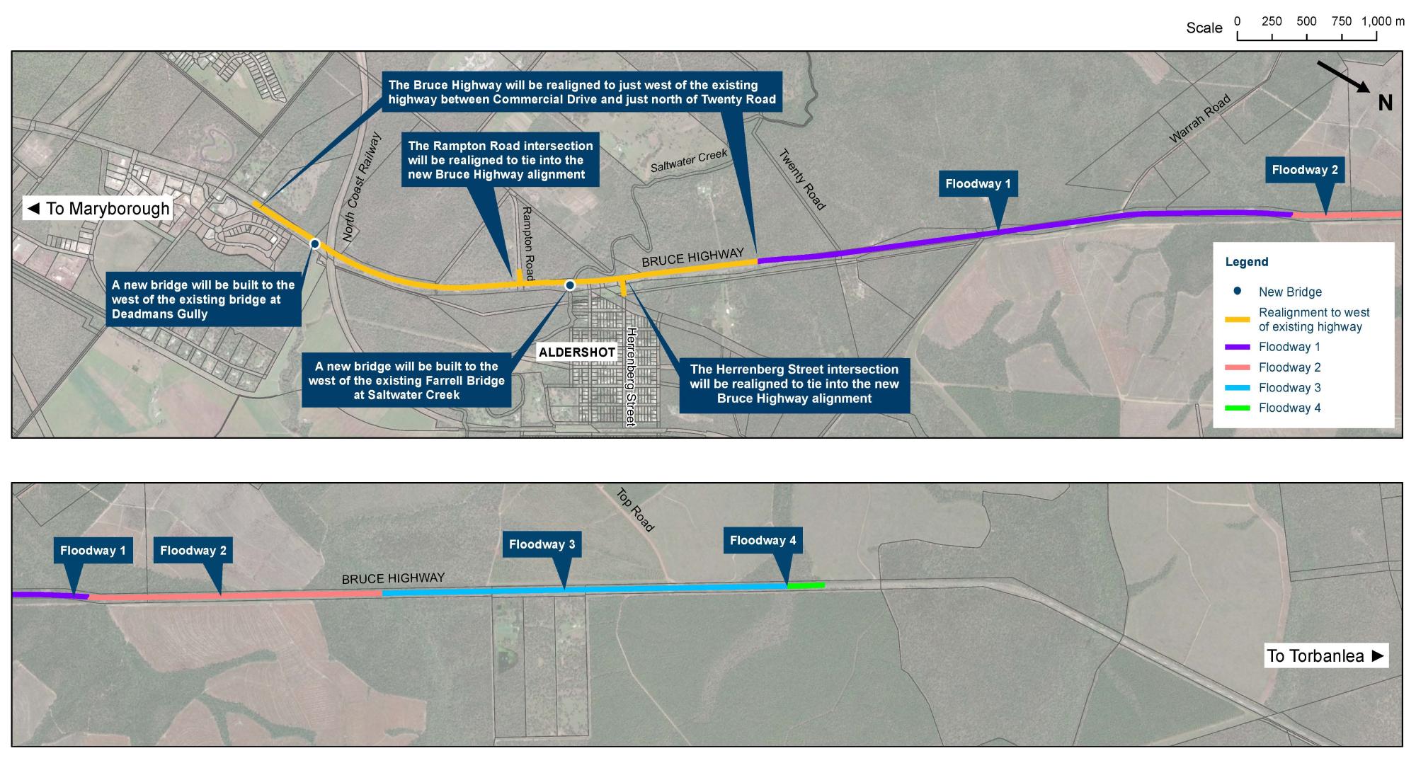 Bruce Highway - Saltwater Creek upgrades webpage image (1)