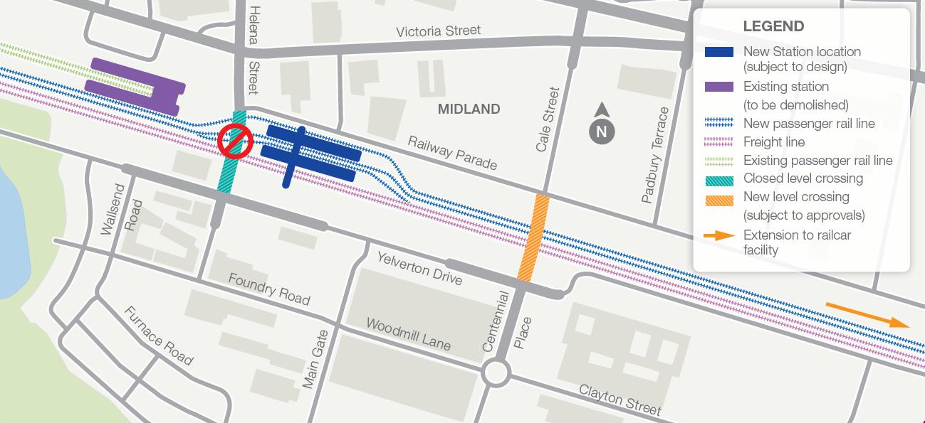Midland map