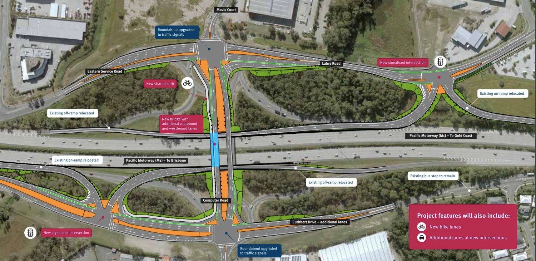 pacific motorway m1 yatala south interchange exit 41 concept design-1