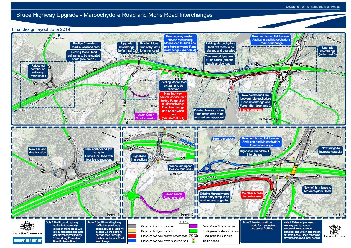 Bruce-Highway-Maroochydore-Mons-Road-Final-Design_Consultation-layout