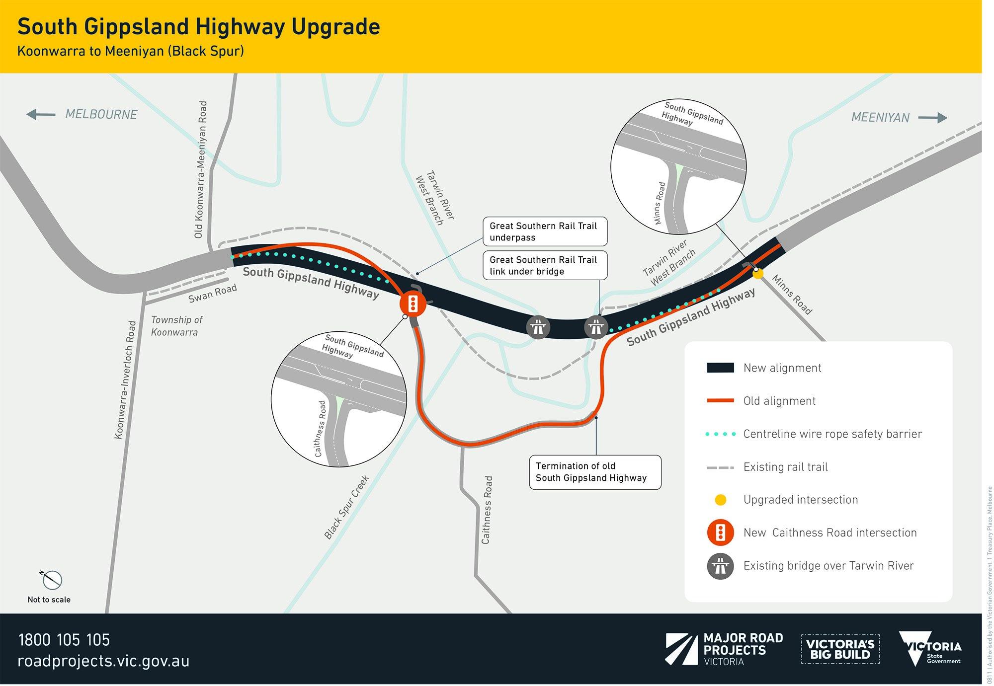 South-Gippsland-Highway-map-Sep2019