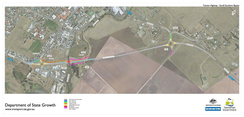 Tasman_Highway_-_Sorell_Southern_Bypass_Drawing