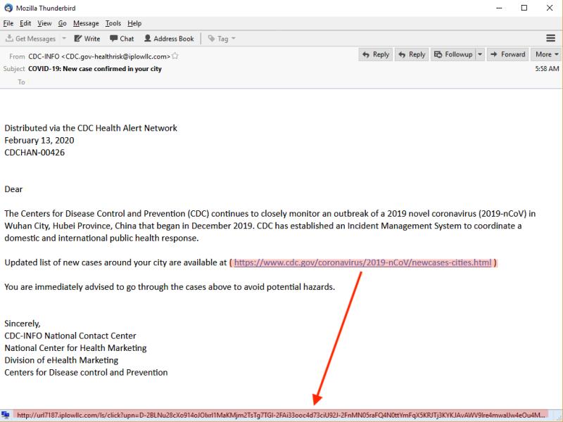 covid19 phishing