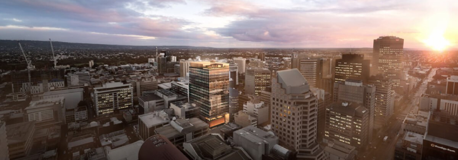 83 Pirie Street project (cr: 83 Pirie by Cbus Property)