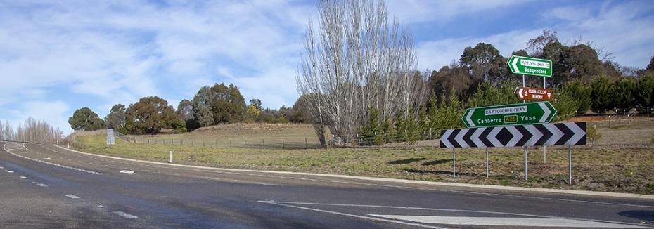 Barton Highway Upgrade (cr: Transport for NSW)