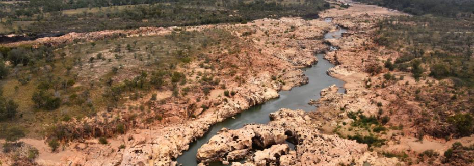 Proposed location of Big Rocks Weir (cr: North Queensland Register)