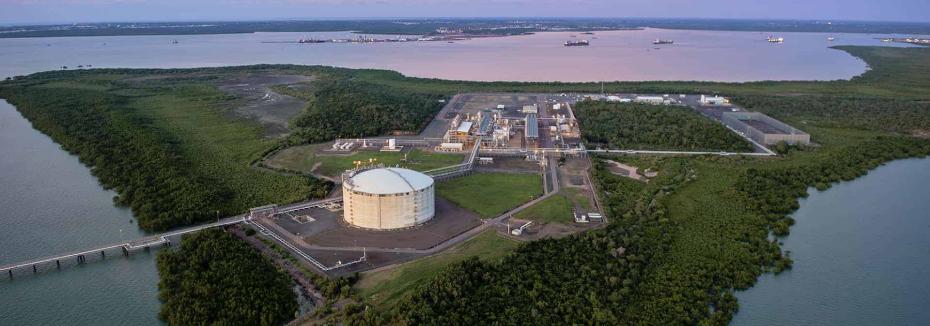 Darwin LNG (cr: Santos)