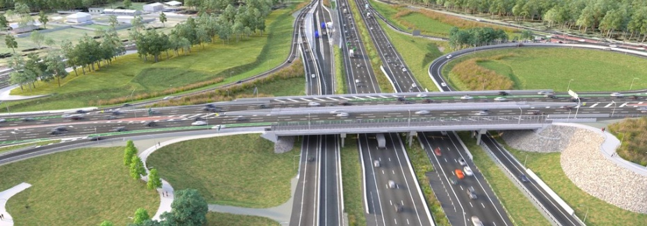 Deception Bay Road Interchange artist impression (cr: Queensland Government)