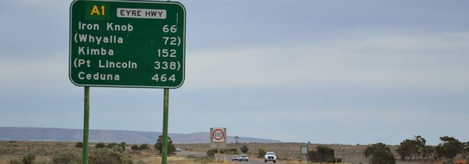 Eyre Highway (cr: Port Lincoln Times)