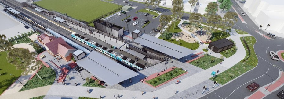Ferguson Street level crossing project (cr: Level Crossing Removal Project)