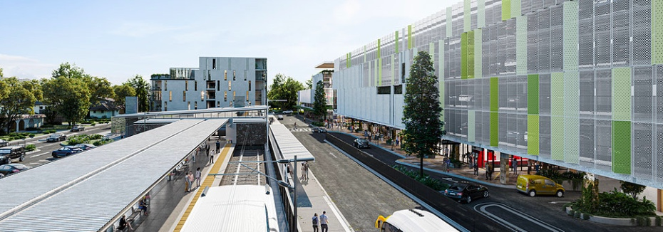 Artist impression of the project (cr: Ferny Grove Central)