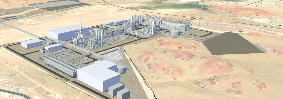 Karratha Urea Project (cr: Clough)