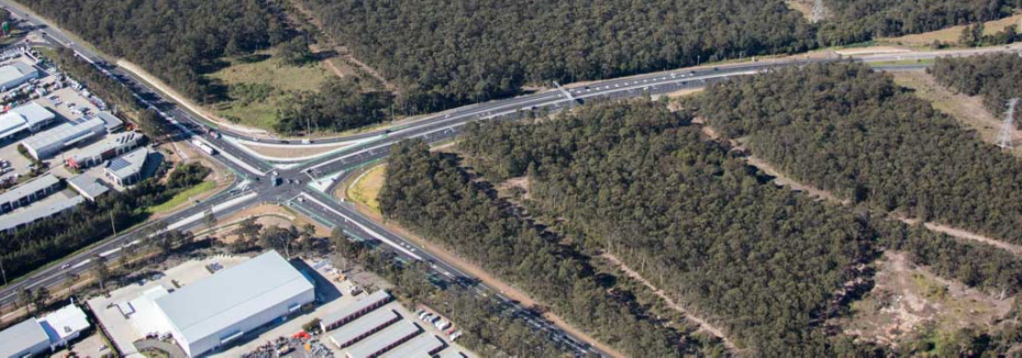 M1 Pacific Motorway, Raymond Terrace (cr: Transport for NSW)