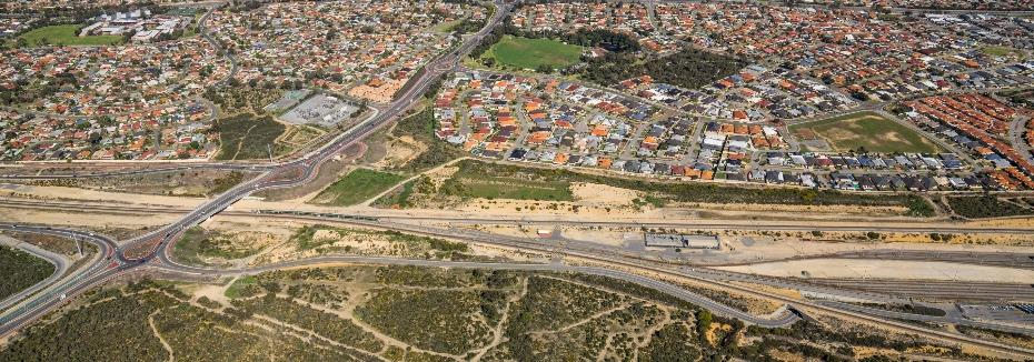 Mitchell Freeway Extension (cr: Main Roads WA)