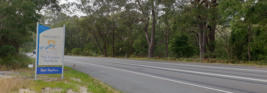 Nelson Bay Road (cr: Transport for NSW)
