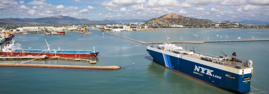 The port (cr: Port of Townsville)