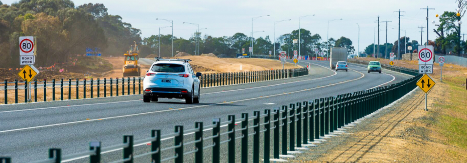 Princes Highway East Duplication (cr: Major Road Projects Victoria)