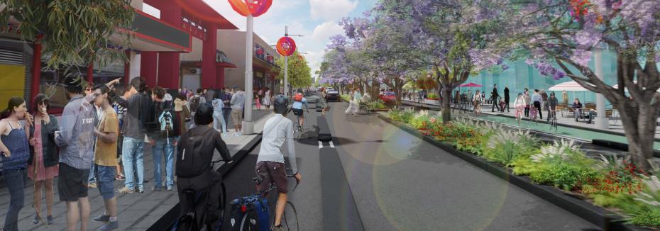 Roe Street revitalisation (cr: City of Perth)