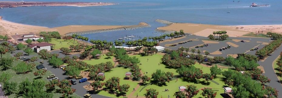 Spoilbank Marina (cr: Town of Port Hedland)