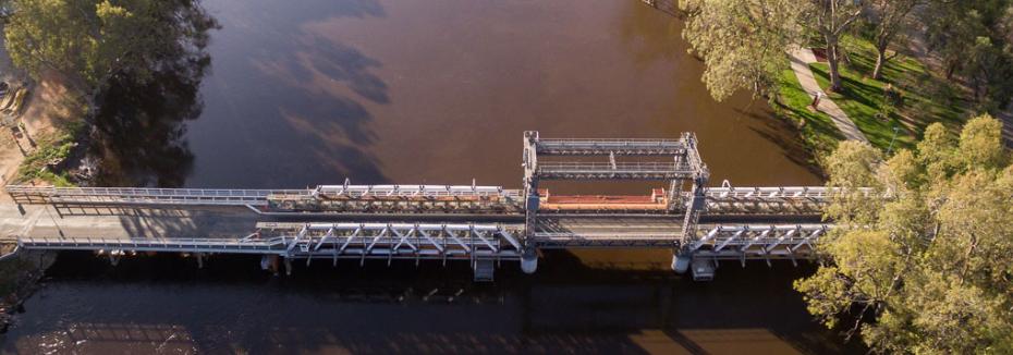 Swan Hill Bridge (cr: Transport for NSW)