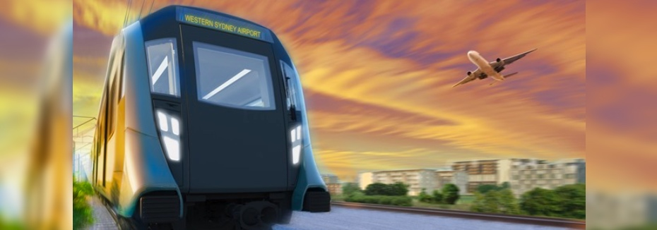 Western Sydney Airport rail line (cr: Sydney Metro)