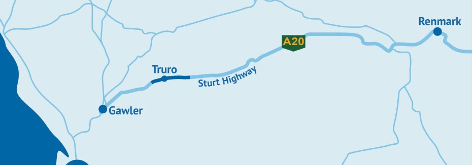 Truro Bypass project (cr: SA Department for Infrastructure and Transport)