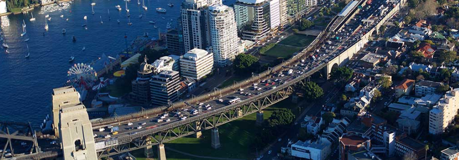 Western Harbour Tunnel and Warringah Freeway Upgrade (cr: CPB Contractors)