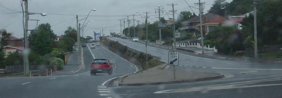 West Tamar Highway (cr: Wikipedia)