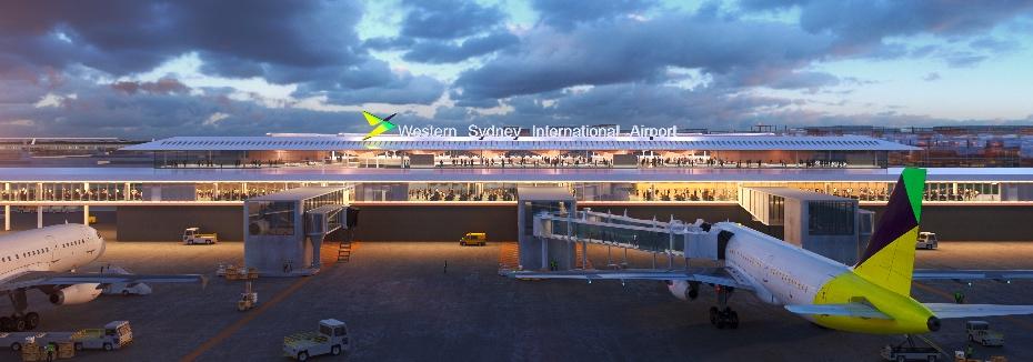 Western Sydney Airport terminal (cr: Western Sydney Airport)
