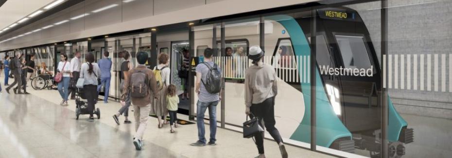 Westmead Station (cr: Sydney Metro)
