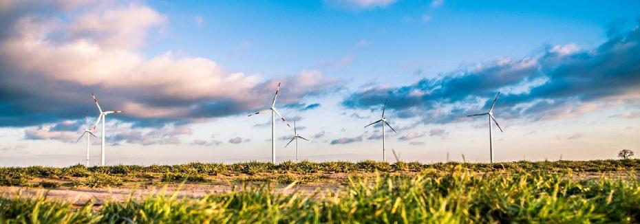 Wind farm (cr: Pixabay - Free-Photos)